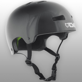TSG Helm Evolution Solid Colors Gr. S/M - injected black - injected schwarz