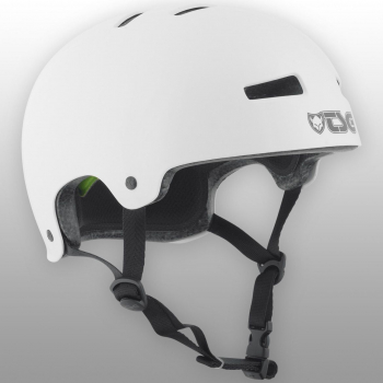 TSG Helm Evolution Solid Colors Gr. L/XL - injected white - injected weiß