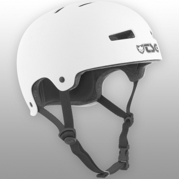TSG Helm Evolution Solid Colors Gr. S/M - satin white- satin weiß