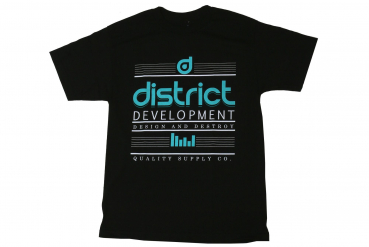 "District T-Shirt ""Destroy"" - Gr. L - black - schwarz"