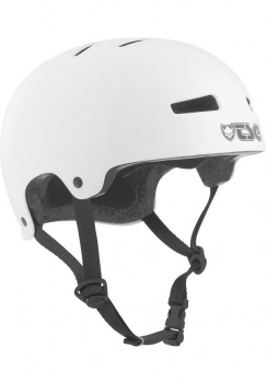 TSG Helm Evolution Youth Kids Solid Colors Gr. XXS/XS - injected white - weiß glänzend
