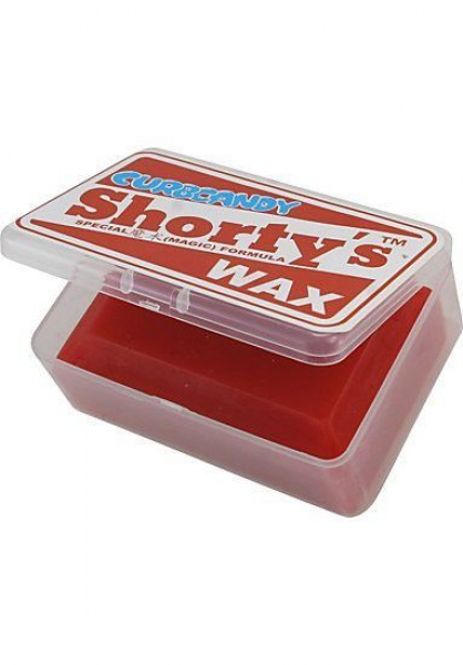 Shortys Curb Candy Wax in a Box - red - rot